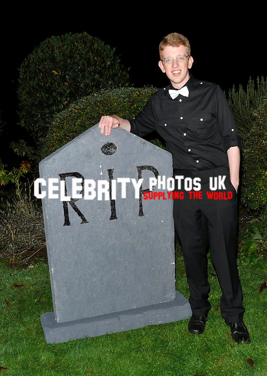 Andrew Edmonds at the bloodlust ball hampton court house ,hampton court road east molesey england 30/10/2010  BYLINE BIGPICTURESPHOTO.COM: 1870....USAGE OF THIS IMAGE OR COPY WRITTEN THAT IS BASED ON THE CAPTION, IS CONDITIONAL UPON THE ACCEPTANCE OF BIG PICTURES'S TERMS AND CONDITIONS, AVAILABLE AT WWW.BIGPICTURESPHOTO.COM