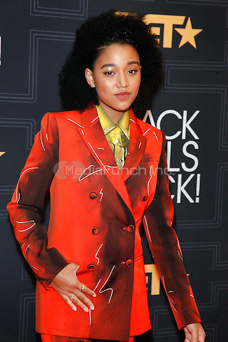 NEWARK, NEW JERSEY - APRIL 1:      Amandla Stenberg attends Black Girls Rock! 2016 on April 1, 2016 at the New Jersey Performing Arts Center in Newark, NJ  photo credit  Star Shooter / MediaPunch