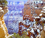 USA; Arizona; Grand Canyon National Park in winter