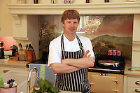 18/06/14 Graham Neville (chef from Restaurant FortyOne) in Killiney Co Dublin. Picture : Collins Dublin.
