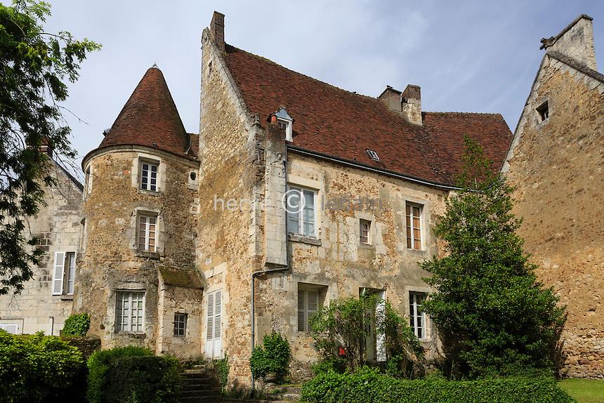 France, Orne (61), Mortagne-au-Perche, ancienne maison dite des Comtes du Perche // France, Orne, Mortagne au Perche,  Counts of Perche house