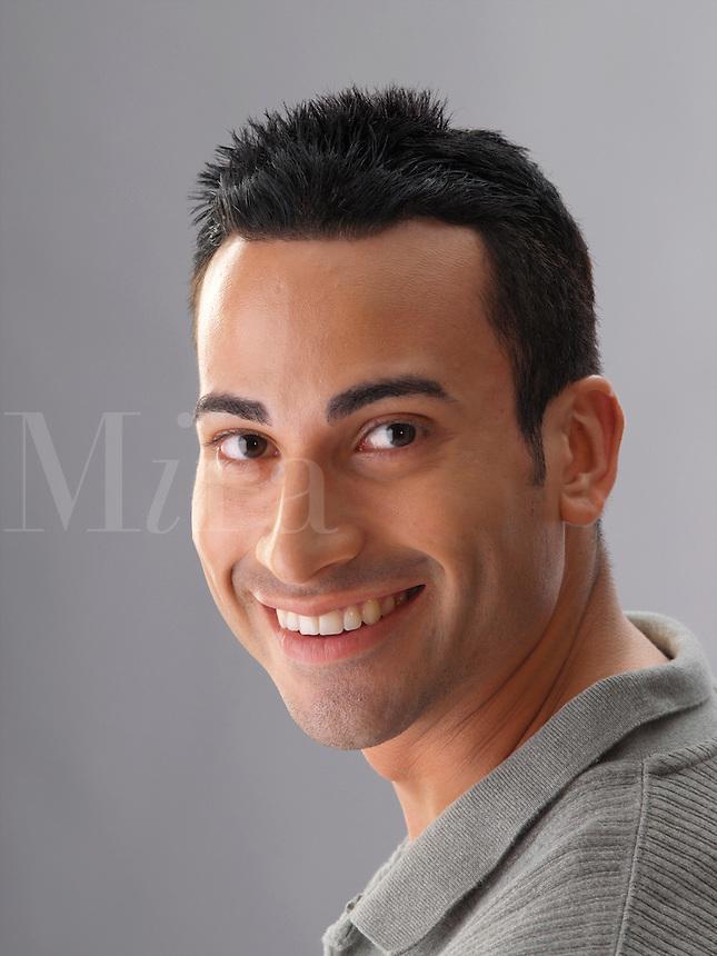 Smiling guy.