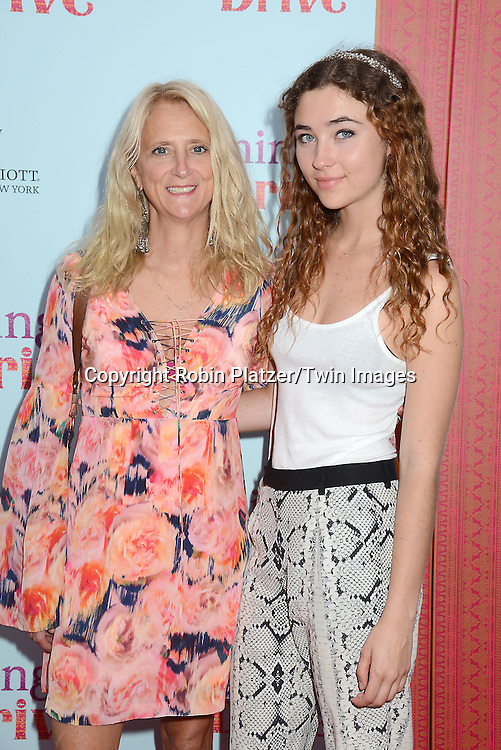 Nanette Lepore and daughter Violet attends the NewYork VIP Premiere of &quot;Learning to Drive&quot;<br /> on August 17, 2015 at The Paris Theatre in New York City, New York, USA. <br /> <br /> photo by Robin Platzer/Twin Images<br />  <br /> phone number 212-935-0770