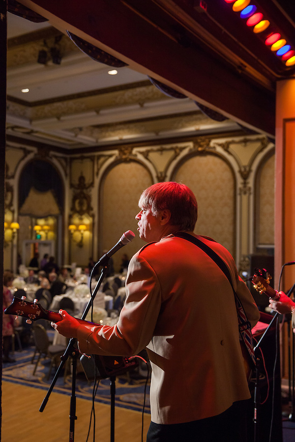 Nigel and Clive & The British Invasion perform at the 2015 Epilepsy Foundation Gala at the Fairmont San Francisco.