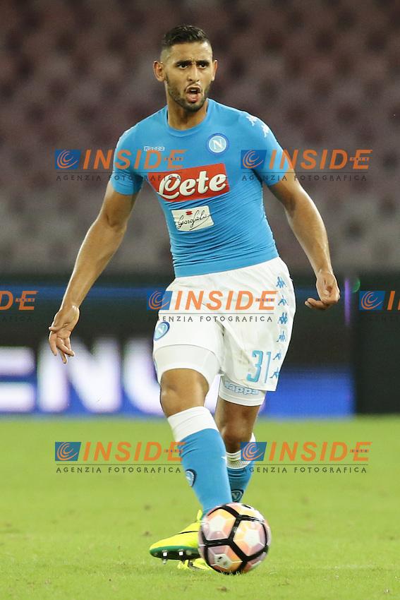 Faouzi Ghoulam Napoli,  <br /> Napoli 24-09-2016 Stadio San Paolo<br /> Football Calcio Serie A 2016/2017 Napoli - Chievo<br /> Foto Cesare Purini / Insidefoto