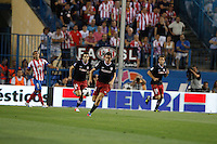27.08.2012 SPAIN -  La Liga 12/13 Matchday 2th  match played between Atletico de Madrid vs Athletic Club de Bilbao (4-0) with hat-trick Radamel Falcao at Vicente Calderon stadium. The picture show Ander Herrera Aguera (Spanish midfielder of Athletic)