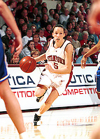 STANFORD, CA - FEBRUARY 3: Christina Batastini of the Stanford Cardinal during Stanford's 83-68 win over the UCLA Bruins on February 3, 2000 at Maples Pavilion in Stanford, California.