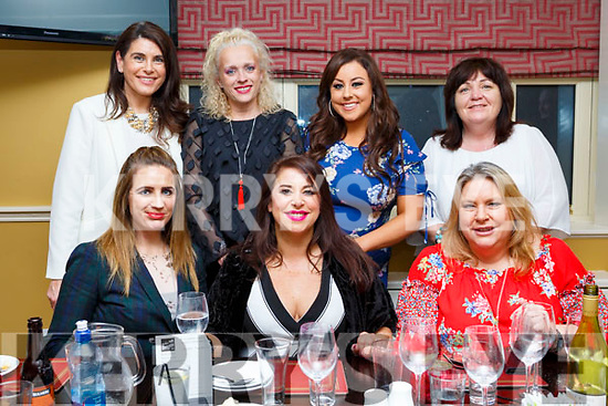 Marie Clifford from the Spa, Tralee celebrating her 40th birthday in the Brogue Inn on Saturday night last, seated l-r, Yvonne Reidy, Birthday girl Marie and Rita Clifford. <br /> Standing l-r, Joanne Clifford, Sally Sheridan, Michaela Brosnan and Mary Whelan.