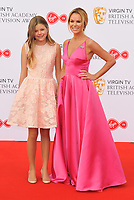 Alexa Louise Florence Hughes and Amanda Holden at the Virgin TV British Academy (BAFTA) Television Awards 2018, Royal Festival Hall, Belvedere Road, London, England, UK, on Sunday 13 May 2018.<br /> CAP/CAN<br /> &copy;CAN/Capital Pictures