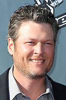 "HOLLYWOOD, LOS ANGELES, CA, USA - APRIL 03: Blake Shelton at the NBC's ""The Voice"" Red Carpet Event held at The Sayers Club on April 3, 2014 in Hollywood, Los Angeles, California, United States. (Photo by Xavier Collin/Celebrity Monitor)"
