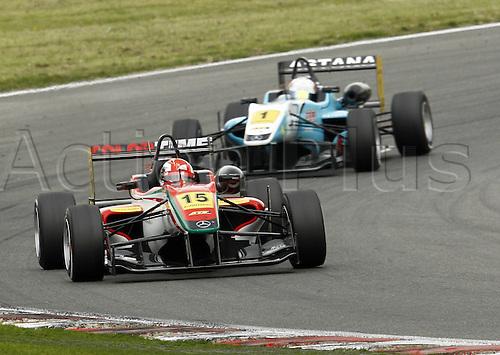 19.05.2012. Brands Hatch, Kent, England. Formula 3 Euro Series.  Round 2 Raffaele  ITA Daniel Juncadella ESP