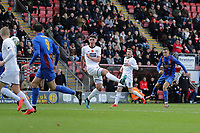 Danny Parish of Maldon goes close to a goal during Leyton Orient vs Maldon & Tiptree, Emirates FA Cup Football at The Breyer Group Stadium on 10th November 2019