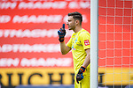 Jiri Pavlenka (SV Werder Bremen) gibt Anweisungen, <br /> <br /> Sport: Fussball: 1. Bundesliga:: nphgm001:  Saison 19/20: 33. Spieltag: 1. FSV Mainz 05 vs SV Werder Bremen 20.06.2020<br /> Foto: Neis/Eibner/Pool/via gumzmedia/nordphoto<br /><br />DFB regulations prohibit any use of photographs as image sequences and/or quasi-video.<br />Editorial Use ONLY<br />National and International News Agencies OUT<br />  DFL REGULATIONS PROHIBIT ANY USE OF PHOTOGRAPHS AS IMAGE SEQUENCES AND OR QUASI VIDEO<br /> EDITORIAL USE ONLY<br /> NATIONAL AND INTERNATIONAL NEWS AGENCIES OUT