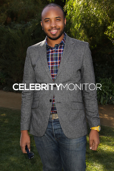 PALM SPRINGS, CA - JANUARY 05: Justin Simien arriving at Variety's Creative Impact Awards And 10 Directors to Watch Brunch during the 25th Annual Palm Springs International Film Festival held at Parker Palm Springs on January 5, 2014 in Palm Springs, California. (Photo by Xavier Collin/Celebrity Monitor)