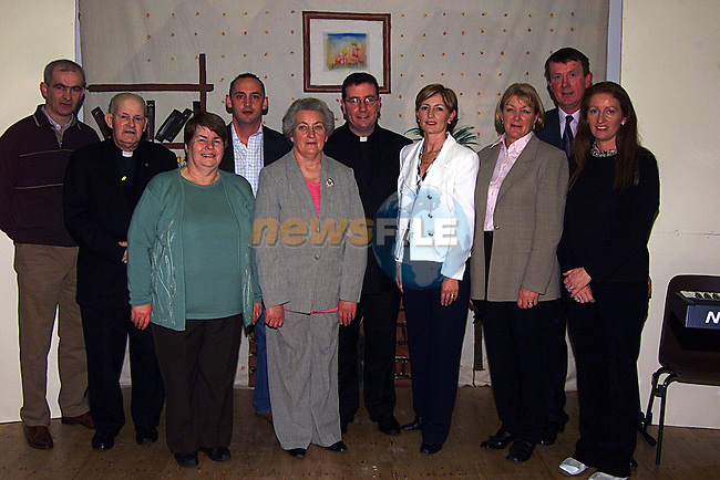 Members of The Hall Committee at The Opening of The New Hall in Slane...Pic Newsfile