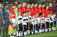 Team Tschechien<br /> Deutschland vs. Tschechien, U21 EM-Qualifikation *** Local Caption *** Foto ist honorarpflichtig! zzgl. gesetzl. MwSt. Auf Anfrage in hoeherer Qualitaet/Aufloesung. Belegexemplar an: Marc Schueler, Alte Weinstrasse 1, 61352 Bad Homburg, Tel. +49 (0) 151 11 65 49 88, www.gameday-mediaservices.de. Email: marc.schueler@gameday-mediaservices.de, Bankverbindung: Volksbank Bergstrasse, Kto.: 151297, BLZ: 50960101