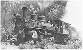 RGS K-27 #461 waiting at Placerville, CO to help extra #455 up Dallas Divide to Peake.<br /> RGS  Placerville, CO  Taken by Kindig, Richard H. - 6/7/1951