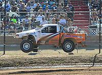 Apr 16, 2011; Surprise, AZ USA; LOORRS driver Jacob Person (92) during round 3 at Speedworld Off Road Park. Mandatory Credit: Mark J. Rebilas-.
