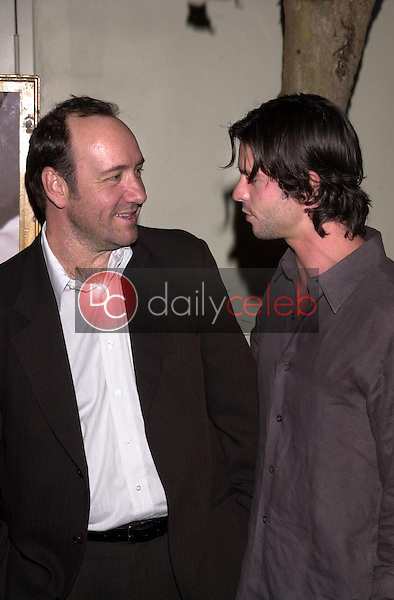 Kevin Spacey and Jason Behr