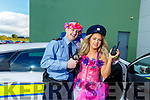 Becky Hussey (Sparkling Simone) and Gda Niall O'Connor enjoying the fun provided by An Garda Siochana at the Little Heros Fun day event by Recovery Haven in the John Mitchels Complex on Sunday.
