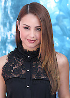 HOLLYWOOD, LOS ANGELES, CA, USA - MAY 28: Aimee Carrero at the World Premiere Of Disney's 'Maleficent' held at the El Capitan Theatre on May 28, 2014 in Hollywood, Los Angeles, California, United States. (Photo by Xavier Collin/Celebrity Monitor)