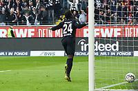 celebrate the goal, Torjubel zum 1:0 von Danny da Costa (Eintracht Frankfurt) - 17.02.2019: Eintracht Frankfurt vs. Borussia Mönchengladbach, Commerzbank Arena, 22. Spieltag Bundesliga, DISCLAIMER: DFL regulations prohibit any use of photographs as image sequences and/or quasi-video.