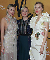 December 04, 2018 Margot Robbie, Josie Rourke, Saoirse Ronan, attend Focus Features &amp; Working Title presents premiere of Mary Queen of Scots at the Paris Theater in New York. December 04, 2018  <br /> CAP/MPI/RW<br /> &copy;RW/MPI/Capital Pictures