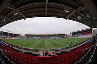 A general view of The Stoop, home of Harlequins<br /> <br /> Photographer Bob Bradford/CameraSport<br /> <br /> European Rugby Challenge Cup Pool 5 - Harlequins v Benetton Treviso - Saturday 15th December 2018 - Twickenham Stoop - London<br /> <br /> World Copyright © 2018 CameraSport. All rights reserved. 43 Linden Ave. Countesthorpe. Leicester. England. LE8 5PG - Tel: +44 (0) 116 277 4147 - admin@camerasport.com - www.camerasport.com