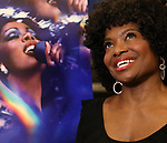 "LaChanze attends the press Meet & Greet  for ""Summer: The Donna Summer Musical"" on March 8, 2018 at the New 42nd Street Studios,  in New York City."