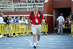 19 June 2004: Washington coach Jim Gabarra. The Washington Freedom tied the Boston Breakers 3-3 at the National Sports Center in Blaine, MN in Womens United Soccer Association soccer game featuring guest players from other teams.