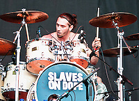 Slaves on Dope performing at Heavy MTL 2011 in Montreal, QC.
