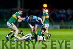 Sean O'Shea Kerry in action against Jonny Cooper Dublin during the Allianz Football League Division 1 Round 3 match between Kerry and Dublin at Austin Stack Park in Tralee, Kerry on Saturday night.