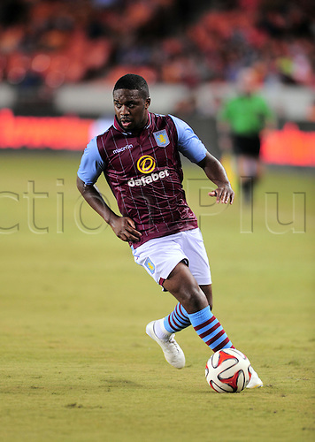 26.07.2014. Houston, Texas, USA.  Aston Villa midfielder Charles N'Zogbia during 1 - 0 win over the Houston Dynmao  at BBVA Compass Stadium in Houston, TX.