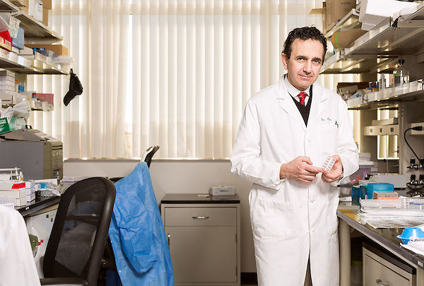 February 11, 2015. Winston Salem, North Carolina.<br />  Dr. Anthony Atala in one of the labs of  the Wake Forest Institute for Regenerative Medicine<br />  Anthony Atala, M.D., is the Director of the Wake Forest Institute for Regenerative Medicine. Dr. Atala is a pioneer in the use of 3D printing in the area of regenerative medicine, focusing on growing new human cells, tissues and organs.