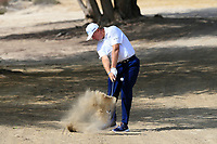 Ernie Els (RSA) on the 3rd during Round 3 of the Omega Dubai Desert Classic, Emirates Golf Club, Dubai,  United Arab Emirates. 26/01/2019<br /> Picture: Golffile | Thos Caffrey<br /> <br /> <br /> All photo usage must carry mandatory copyright credit (© Golffile | Thos Caffrey)