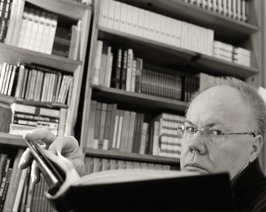 Bill Morgan, 2008.  Bibliographer and biographer of Allen Ginsberg and Lawrence Ferlinghetti.