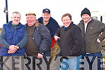 ARRIVED: Just arrived at the Abbeydorney Ploughing Championships on Sunday: John O'Sullivan (abbeyfeale), Domnick Sheehy (Lixnaw), Con Lyons (Ballymacelligott), James Leen (Kielduff) and Mike O'Brien (Kilflynn).......................
