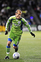 Freddie Ljungberg...Kansas City Wizards were defeated 3-2 by Seattle Sounders at Community America Ballpark, Kansas City, Kansas.