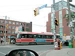 Electric tram, Toronto, Ontario - street car