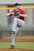 Starting pitcher Shooter Hunt (15) of the Elizabethton Twins in action at Boyce Cox Field in Bristol, TN, Thursday July 4, 2008.  Hunt was the 31st overall pick in the 2008 First Year Player Draft.