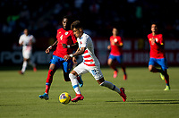 CARSON, CA - FEBRUARY 1: Ulysses Llanez Jr #19 of the United States moves to the goal during a game between Costa Rica and USMNT at Dignity Health Sports Park on February 1, 2020 in Carson, California.