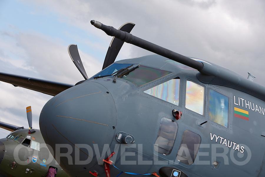 Alenia Aermacchi C-27J Spartan Military aircraft