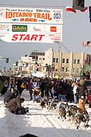 Rohn Buser Anchorage Start Iditarod 2008.
