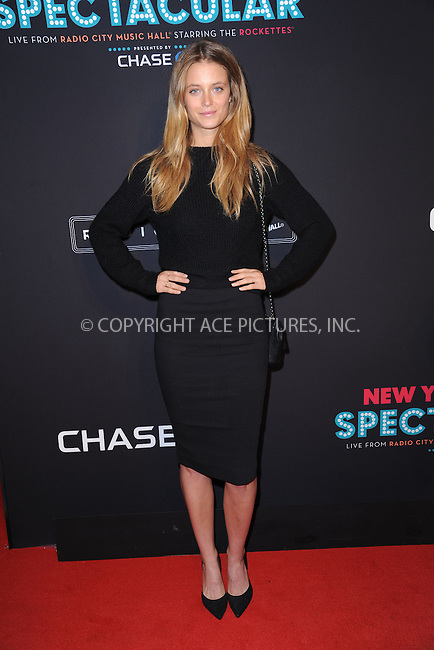 WWW.ACEPIXS.COM<br /> March 26, 2015 New York City<br /> <br /> Kate Bock attending the 2015 New York Spring Spectacular at Radio City Music Hall on March 26, 2015 in New York City.<br /> <br /> Please byline: Kristin Callahan/AcePictures<br /> <br /> ACEPIXS.COM<br /> <br /> Tel: (646) 769 0430<br /> e-mail: info@acepixs.com<br /> web: http://www.acepixs.com