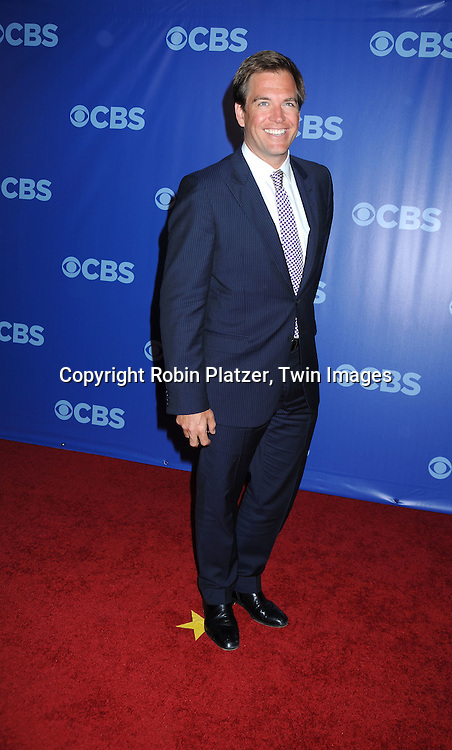 """Cast of """"NCIS""""  Michael Weatherly arriving at The CBS Upfront presentation of their 2010-2011 Fall Season on May 19, 2010 at Lincoln Center in New York City."""