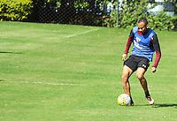 SÃO PAULO,SP,28.07.2016 - FUTEBOL-SÃO PAULO - Wesley durante treino técnico da equipe no Ct da Barra Funda zona oeste da cidade, na manhã desta quinta-feira (28). (Foto : Marcio Ribeiro / Brazil Photo Press)