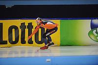SCHAATSEN: HEERENVEEN: 19-11-2016, IJsstadion Thialf, KNSB trainingswedstrijd, Konrad Niedźwiedzki, ©foto Martin de Jong