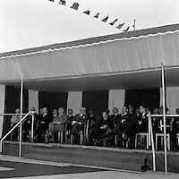 Mei 1975.  Scheepswerf Mercantile Marine Engineering in Antwerpen.  Bezoek Prins Albert.