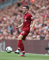 Liverpool's Andrew Robertson<br /> <br /> Photographer Rob Newell/CameraSport<br /> <br /> The Premier League - Liverpool v West Ham United - Sunday August 12th 2018 - Anfield - Liverpool<br /> <br /> World Copyright &copy; 2018 CameraSport. All rights reserved. 43 Linden Ave. Countesthorpe. Leicester. England. LE8 5PG - Tel: +44 (0) 116 277 4147 - admin@camerasport.com - www.camerasport.com