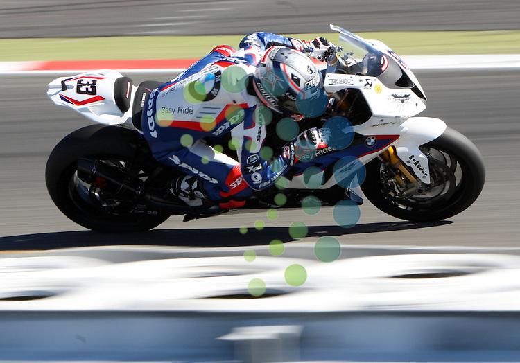 ENI FIM Superbike World Championship, Nuerburgring 07.-09.09.2012.MARCO MELANDRI (I#33) BMW MOTORRAD MOTORSPORT...Picture:Hasan Bratic/Universal News And Sport (Europe) 8 September 2012.